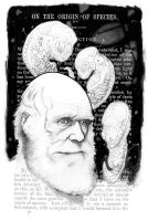 Happy Darwin Day 2012 by cliff-rathburn