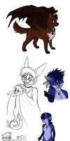 Look at all the Furries by MelvisMD