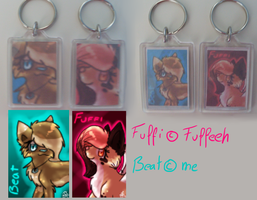 Keychains by Xenophilith