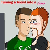 turning a friend into a lover pic by AnotherDBZfan