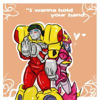 I wanna hold your hand by AccidentProneComics