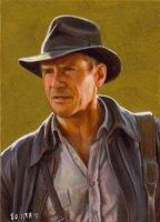 Indiana Jones card 239 by charles-hall