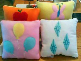 MLP FiM Pillow set 1 by CynicalSniper