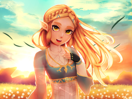 Zelda by Yur1Rodrigues