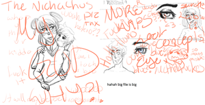 aHAHAHA WIPS- ship and OCS by Russane
