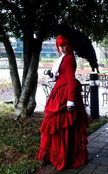 Madam Red - The Bloody Madam by bluegirlwish