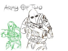 Army of Two by Cathius89