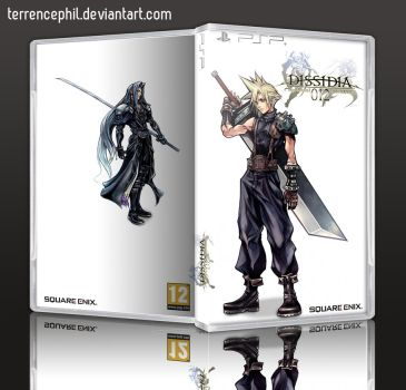 Final Fantasy Dissidia Duodecim PSP Box Art by terrencephil