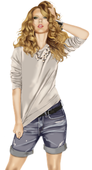 Taylor Swift by 13sparks