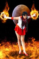 Sailor Mars Cosplay by allanimerules1