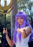 Athena - Saint Seiya III by theredviper