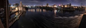 Stone Arch Bridge 180 Panorama by 5isalive