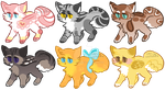 Fab Adopts 2 :OPEN: by PilusAdopts