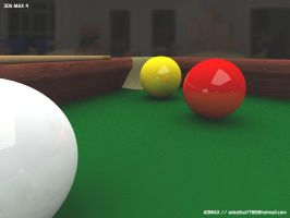 Snooker Table 3D by admax