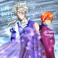 Disney Frozen Male Version Elson Armin by KaMerica