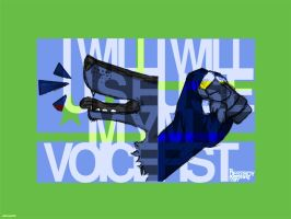 YOU HAVE A VOICE. by Dante3o3