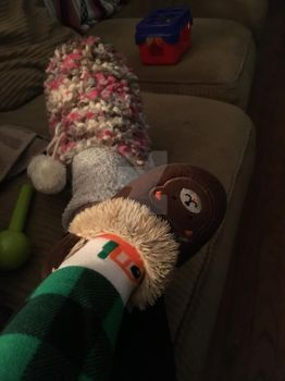 House Slippers by RebeKahsOwnPlace