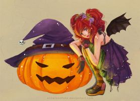 Halloween Girl by serafleur