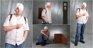 Ginko Cosplay (Mushishi) by Pasiphilo