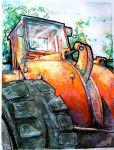 Tractor by lucydanger