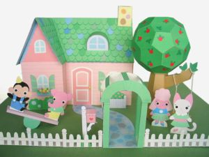 Paper Doll House by FantasticToys