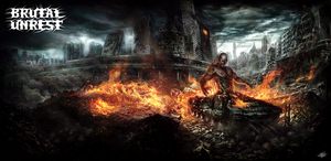 BRUTAL UNREST-NEMESIS CD COVER-EXTENDED by mlappas