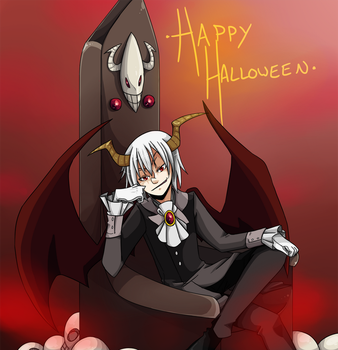 Happy Halloween Akymie by Makio-Kuta