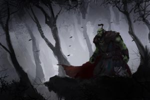 Orc In Forest Wip 2 by Warmics