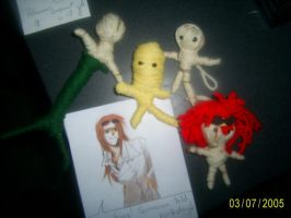String Doll Series: Group shot 1 by Merartist82