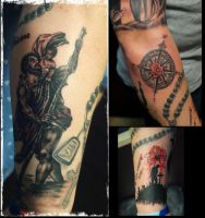 tattoos by karlinoboy