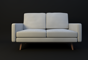 Couch ~ Architectural Asset by JoeyBlendhead