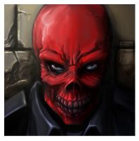 Herr Red Skull by Tatong