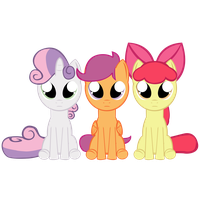 Cutie Mark Crusaders by GatesMcCloud