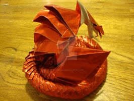 Hell Cobra by amazingorigami