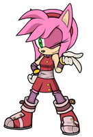 Amy Rose by icefatal