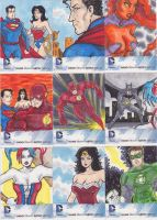 DC New 52 AP Cards set 2 by phymns