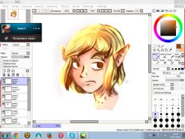 Elf by ZevaPsychocat