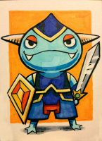 Mermite! from Ni No Kuni by eric3dee