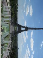 Paris, Eiffel Tower view by elodie50a