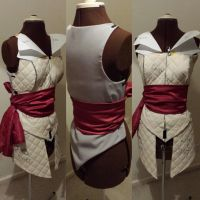 Ezio costume progress by ArtisansTheory