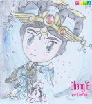 Chang'E (Smite) by xander64lmh
