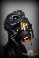 Half Life gravity gun light up gas mask by TwoHornsUnited