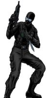 Snake Eyes v1 - Full Color by PrimeOp