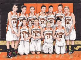 Bloomer Basketball by tdastick