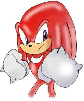 Knuckles-Portrait by ss2sonic