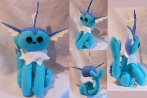 Vaporeon ~Sold ~ by FuzzyAliens