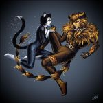 Tugger and Misto by Candra