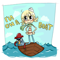 Flapjack -- I'm On A Boat by littlelenore