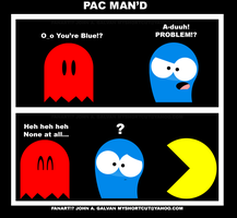 FOSTERS Bloo got PAC-eD by SynDuo