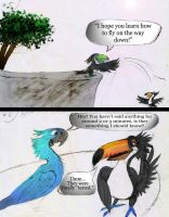 Rio 2 funny fanfic comic, Page 5 and 6. by Rico-MissleKid7